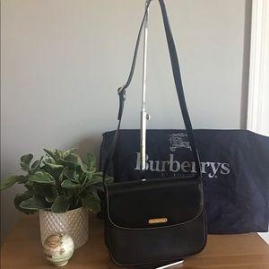 🛍 Authentic BURBERRY'S of London Black Bag